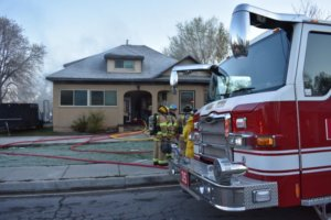 Home damage caused by gasoline generator
